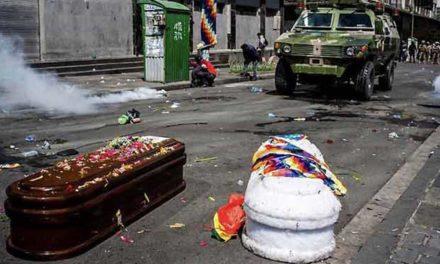 """<div class=""""titulo_partido""""><span>Actualidade.</span></div> Bolivia. O capitalismo é o terrorismo"""