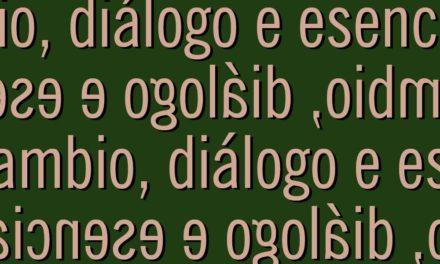 """<div class=""""titulo_partido""""><span>Editorial.</span></div> Cambio, diálogo e esencias"""