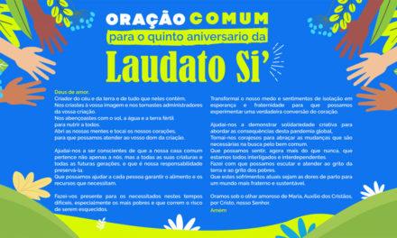 "<div class=""titulo_partido""><span>Boa nova.</span></div> Defender a terra é defender a vida, 5 anos da Laudato, si"