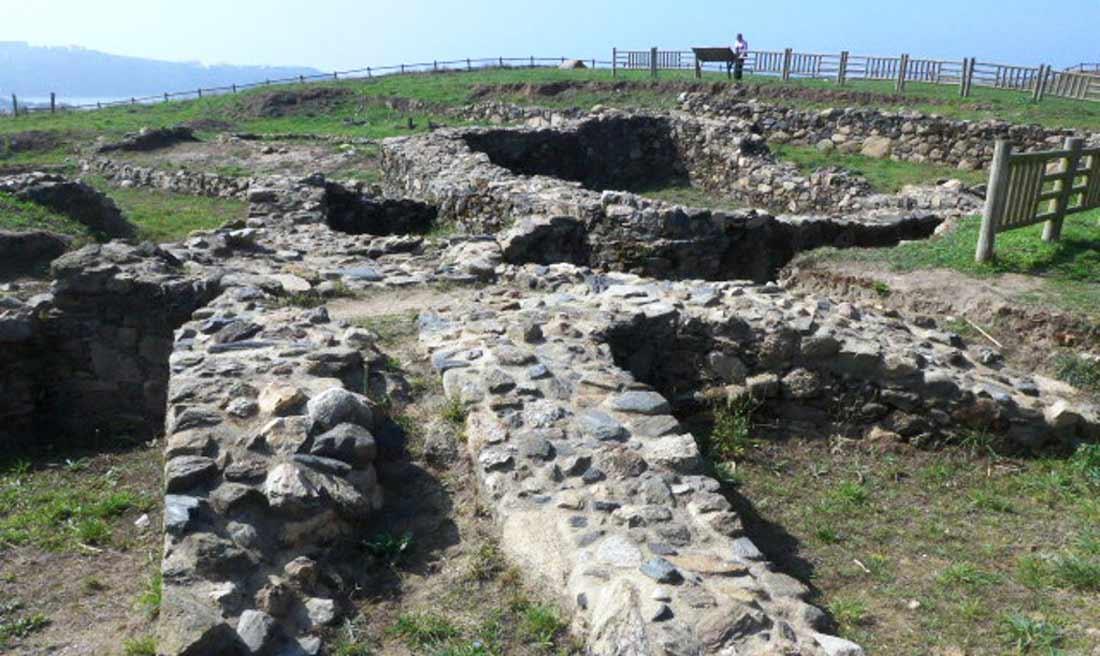 Escavacións na Lanzada