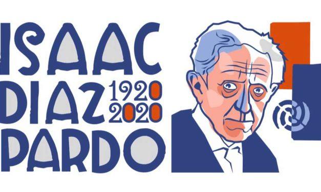 """<div class=""""titulo_partido""""><span>Pingas de orballo.</span></div> Cen anos de Isaac Díaz Pardo (Compostela, 1920)"""