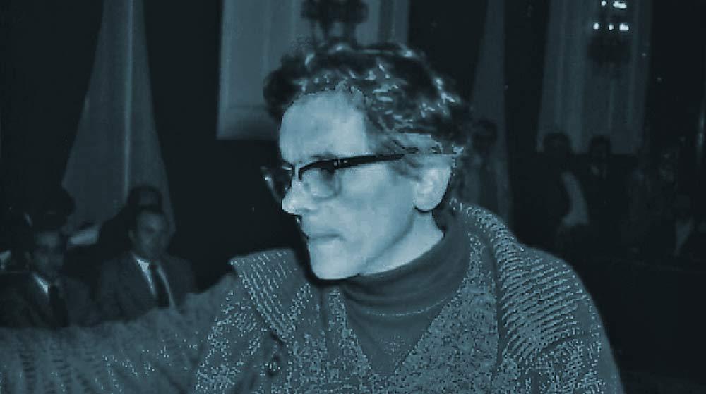 Vicente Couce nunha foto da época