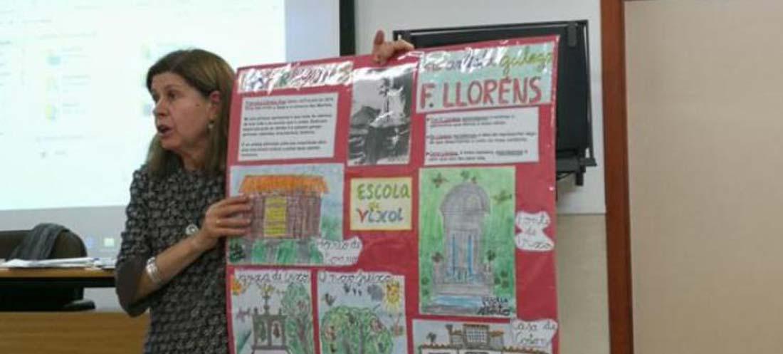 Alicia López Pardo, a Rede do Rural e a loita contra a supresión de escolas e servizos