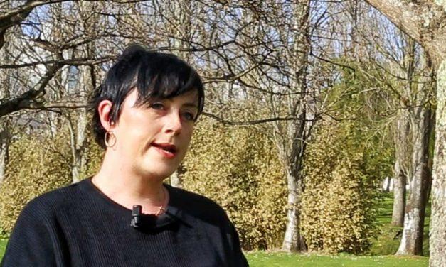 """<div class=""""titulo_partido""""><span>Letras galegas 2021.</span></div> Entrevista con Iria Taibo"""