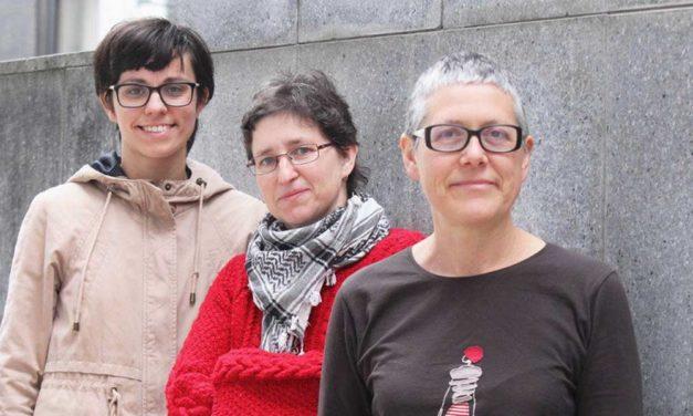 """<div class=""""titulo_partido""""><span>Ferrados de corazón.</span></div>Lucía Medina, coordinadora do Banco de tempo de Lugo"""