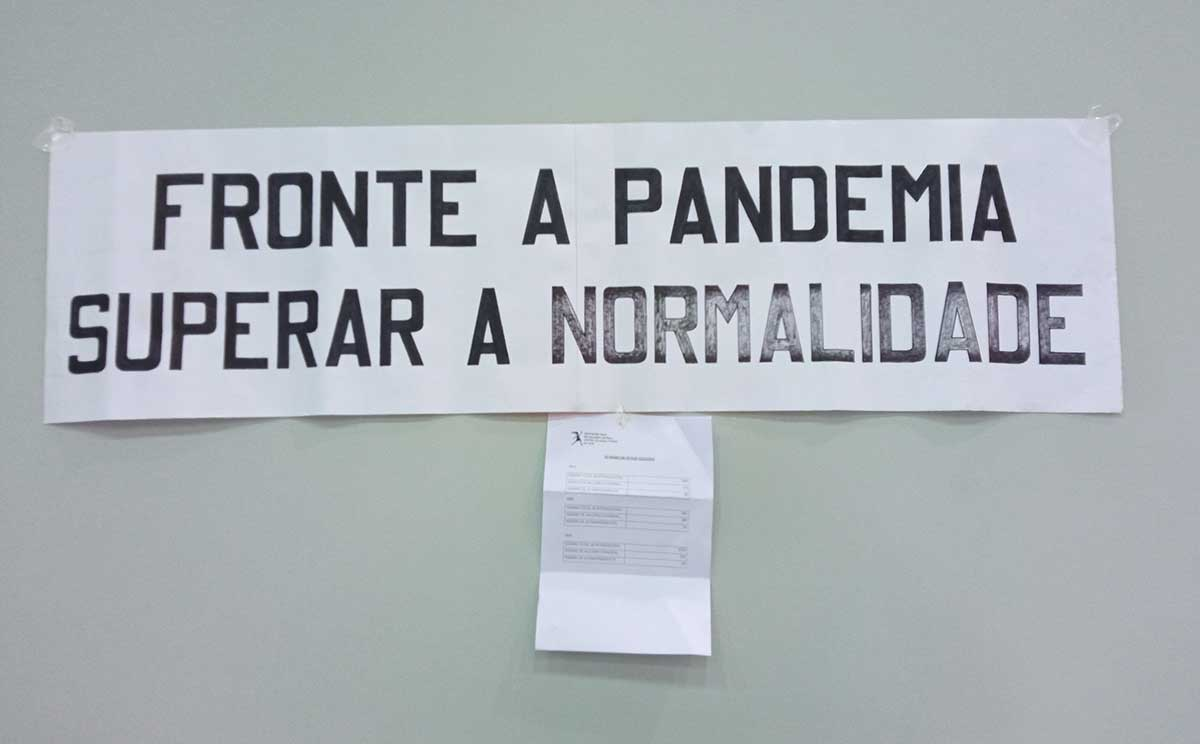 cartel fronte a pandemia