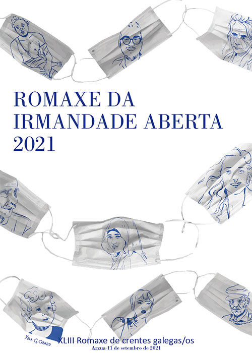 Portada ROMAXE DA IRMANDADE ABERTA 2021